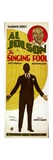 THE SINGING FOOL, top and bottom: Al Jolson, 1928. Prints