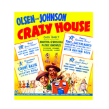 CRAZY HOUSE, US poster, from left: Ole Olsen, Chic Johnson, 1943 Affischer