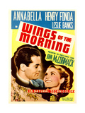 WINGS OF THE MORNING Prints