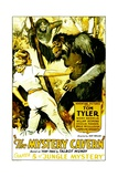 JUNGLE MYSTERIES, left: Cecilia Parker in 'Chapter 5: The Mystery Cavern', 1932. Posters