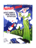 MAUVAISE GRAINE, (aka BAD SEED, aka BAD BLOOD), French poster art, Danielle Darrieux, 1934 Prints