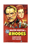 RHODES (aka RHODES OF AFRICA), left: Walter Huston, 1936 Posters