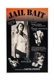 JAIL BAIT, US poster, Tina Lynn, Wade Nichols, 1977 Prints