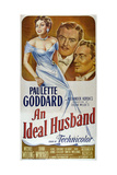 AN IDEAL HUSBAND Art