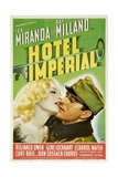 HOTEL IMPERIAL, from left: Isa Miranda, Ray Milland, 1939. Print