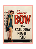 THE SATURDAY NIGHT KID, Clara Bow on US poster art, 1929 Prints