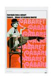 CABARET, US poster, Liza Minnelli, 1972. Poster