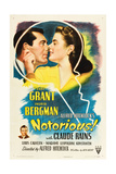 NOTORIOUS, Cary Grant, Ingrid Bergman, Claude Rains, 1946 Prints