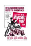 THE MINI-SKIRT MOB, Diane McBain (on motorcycle), 1968 Affiche