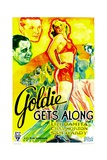 GOLDIE GETS ALONG, right: Lili Damita, 1933. Prints