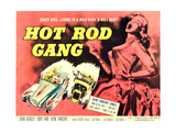 Hot Rod Gang, 1958 Poster