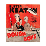 DOUGHBOYS, US poster art, from left: Buster Keaton, Sally Eilers, Cliff Edwards, 1930 Premium Giclee Print