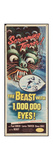 THE BEAST WITH A MILLION EYES, insert poster, 1955. Posters
