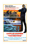 THE MECHANIC, Charles Bronson, 1972. Print