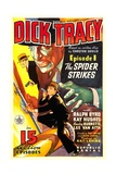 DICK TRACY, Ralph Byrd in 'Episode 1: The Spider Strikes', 1937 Art