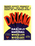 DIXIANA, window card, 1930 Posters
