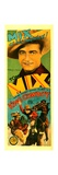 KING COWBOY, top: Tom Mix, 1928. Print