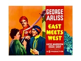 EAST MEETS WEST, left: Lucie Mannheim, right: George Arliss, 1936 Prints