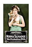 THE PROBATION WIFE, Norma Talmadge, 1919 Prints