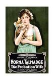 THE PROBATION WIFE, Norma Talmadge, 1919 Prints