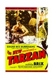 THE NEW ADVENTURES OF TARZAN, center: Herman Brix, far right top: Herman Brix, 1935. Prints
