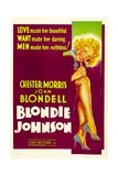 BLONDIE JOHNSON, Joan Blondell, 1933. Art