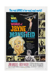 THE WILD, WILD WORLD OF JAYNE MANSFIELD, US poster, Jayne Mansfield, 1968 Art