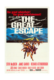 THE GREAT ESCAPE, 1963 Poster Art Poster