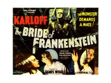 THE BRIDE OF FRANKENSTEIN Posters