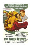 THE GREEN HELMET, from left: Nancy Walters, Bill Travers, 1961. Poster
