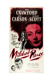 MILDRED PIERCE, U.S. poser art, Zachary Scott, Jack Carson, Joan Crawford, 1945 Prints