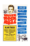 Mister Rock and Roll, Alan Freed, Little Richard with his band, 1957 Plakater
