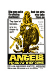 ANGELS HARD AS THEY COME, (poster art), 1971 Posters