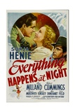 EVERYTHING HAPPENS AT NIGHT Posters