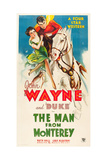 THE MAN FROM MONTEREY, Ruth Hall, John Wayne, 1933 Posters