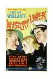 MYSTERY LINER, Gustav von Seiffertitz, Astrid Allwyn, Cornelius Keefe, 1934 Posters