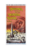 JOURNEY TO THE SEVENTH PLANET, poster art, 1962 Prints