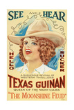 THE MOONSHINE FEUD, Texas Guinan, 1920 Prints