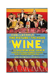 WINE, 1924. Poster