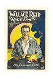 RENT FREE, Wallace Reid, 1922. Print