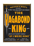 THE VAGABOND KING, window card, 1930 Prints