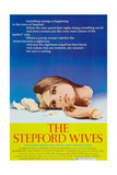 THE STEPFORD WIVES, Katharine Ross on poster art, 1975. Poster