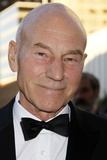 Patrick Stewart at arrivals for 2012 Metropolitan Opera Opening Night Gala - Donizetti's L… Print
