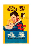 PILLOW TALK, U.S. poster, from left: Doris Day, Rock Hudson, 1959 Print