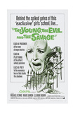 THE YOUNG, THE EVIL AND THE SAVAGE, (aka NUDE...SI MUORE), US poster, 1968 Print