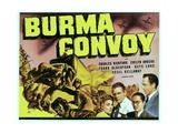 BURMA CONVOY, from left: Evelyn Ankers, Charles Bickford, Keye Luke, Frank Albertson, 1941. Prints