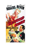 BACHELOR MOTHER, Ginger Rogers, Elbert Coplen, Jr., (baby), David Niven, 1939 Poster
