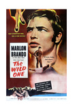 THE WILD ONE, Marlon Brando, 1953. Poster