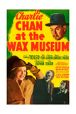 CHARLIE CHAN AT THE WAX MUSEUM Plakater