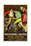 WHISPERING CANYON, poster art, 1926. Prints